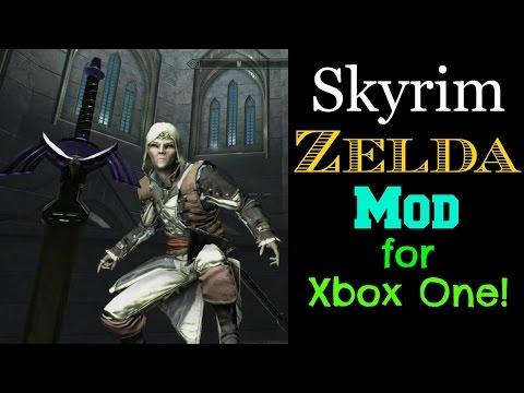 Skyrim Zelda Mod for Xbox One!