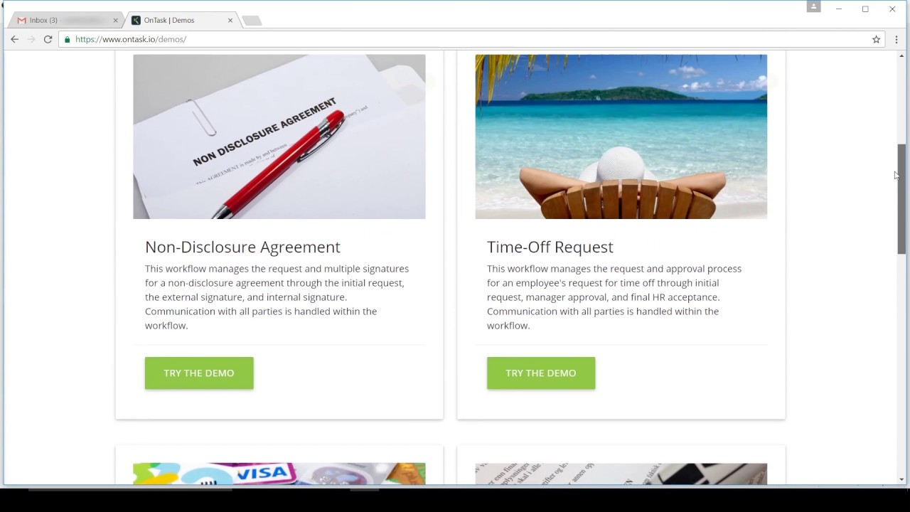 Electronic Non Disclosure Agreements With Ontask