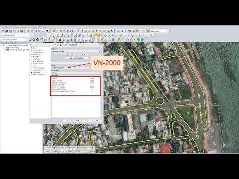 Global Mapper - Thiết lập hệ tọa độ VN-2000 cho từng tỉnh (Setting & Transfer Coordinate Systems)