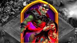 Битва Замков 616 Знакомство С Новым Героем Имба Обзор Обновы  Мега Роллинг  Castle Clash