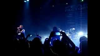 Fear Factory live - A Therapy for Pain - first time ever live! Demanufacture tour 2013