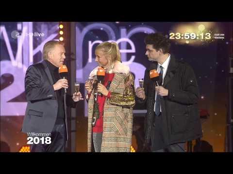 Wincent Weiss - Feuerwerk - Jahreswechsel 2017-2018 am Brandenburger Tor (Willkommen 2018)