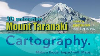 Georden | 3D Animation - Mount Taranaki (🇳🇿 New Zealand)