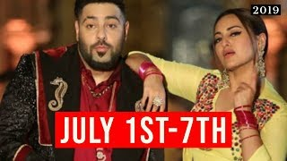 top-10-songs-of-the-week-july-1st-7th-2019-new-bollywood-songs-2019