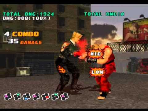 Tekken 3 Paul Combos Youtube
