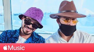J Balvin and Bad Bunny:
