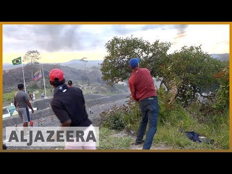 🇻🇪 🇧🇷 Venezuelan migrants and Venezuelan troops in violent clashes l Al Jazeera English