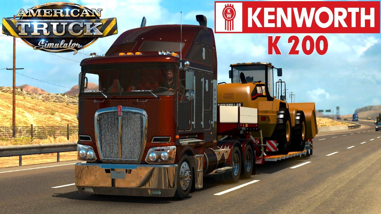 Kenworth Box Truck >> American Truck Simulator KENWORTH K200 - YouTube