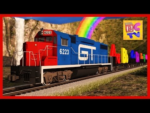 Alphabet Train | Learn ABCs for kids with this fun ABC train video in English