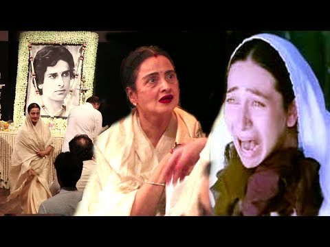 Shashi Kapoor's Family EMOTIONAL Moments At Prayer Meet Inside Video -Karishma,Rekha,Ranbir,Kareena