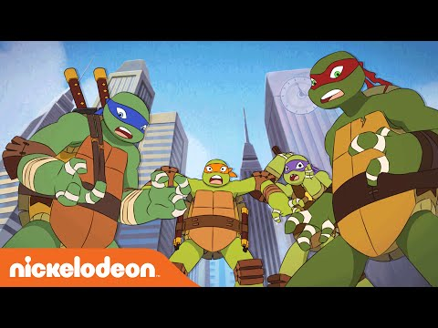 TMNT | Turtles Meet Turtles: The Trans-Dimensional Remix | Nick