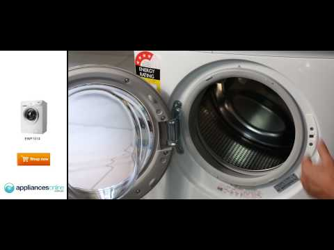 The EWF1074 7kg front load Electrolux washing machine explained by expert - Appliances Online