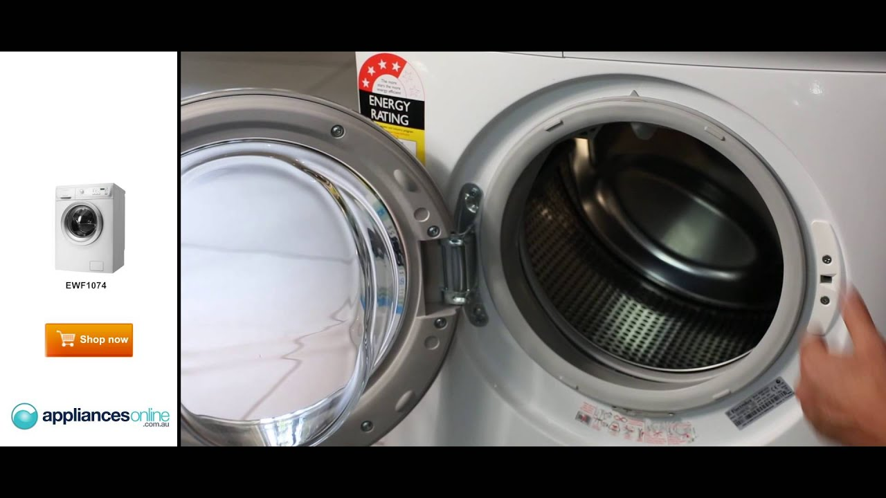 electrolux 8 5kg front loader. the ewf1074 7kg front load electrolux washing machine explained by expert - appliances online youtube 8 5kg loader