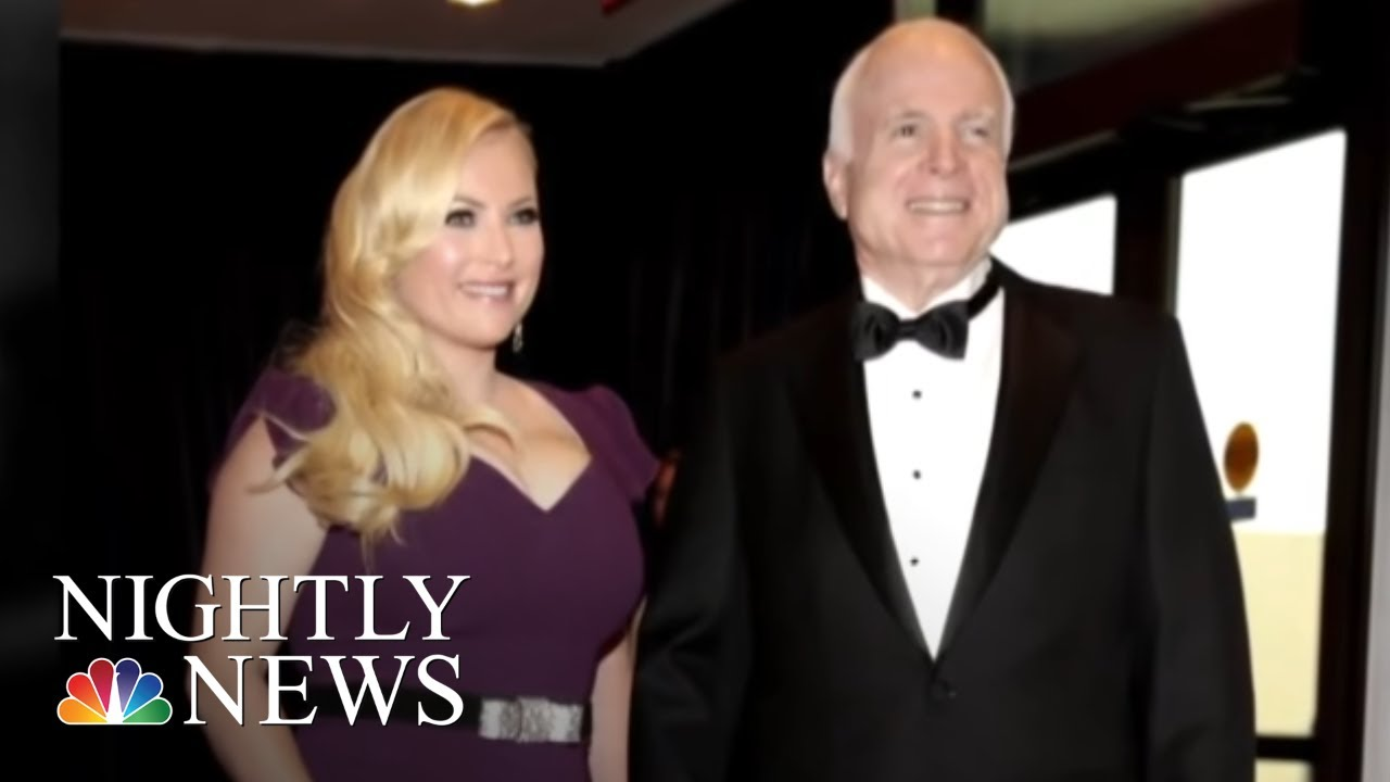 John McCain Honored By Former Presidents, Friends And Family At Cathedral | NBC Nightly News