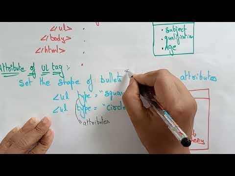 HTML Tags | Part-2/3 | Web Technology | Lec-6 | Bhanu Priya