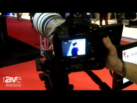 ISE 2016: Canon Discusses Their Camera Range, Including C300 Mark II, 1DX Mark II, and XC10