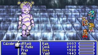 Game Boy Advance Longplay [108] Final Fantasy IV Advance (part 2 of 6)