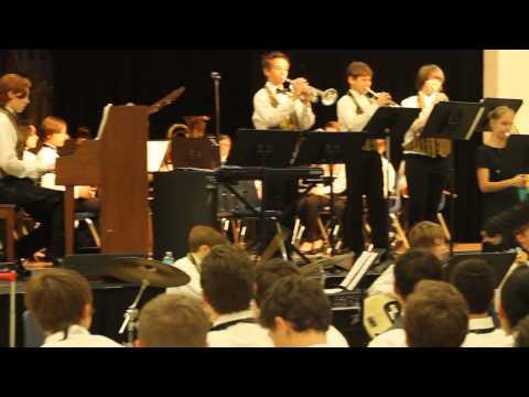 Joseph L Carwise Middle School Band Winter Concert Dec 2014