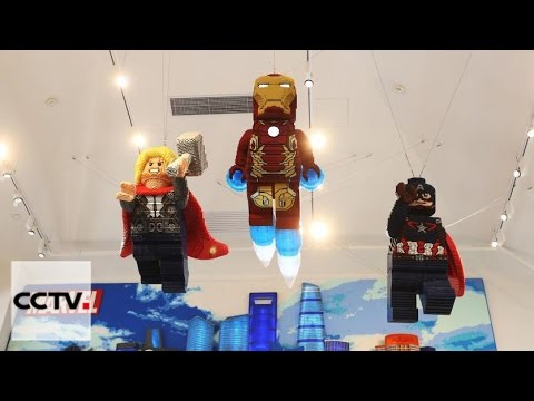 World's largest Lego store opens in Shanghai - YouTube