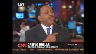 Creflo Dollar TV Interview Part 2 -EXPOSING CHARLATANS