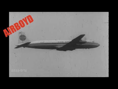 Pan Am DC-6 Clippers At Berlin Tempelhof Airport (1961)
