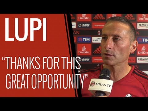 Alessandro Lupi, Milan Primavera Coach, Interview