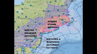 WINTER STORM WARNINGS NYC LONG ISLAND NORTH SHORE NE NEW JERSEY SOUTHERN NEW ENGLAND