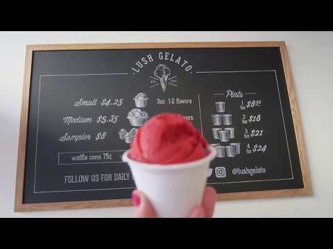 Lush Gelato: Small Batch Made From Scratch in San Francisco