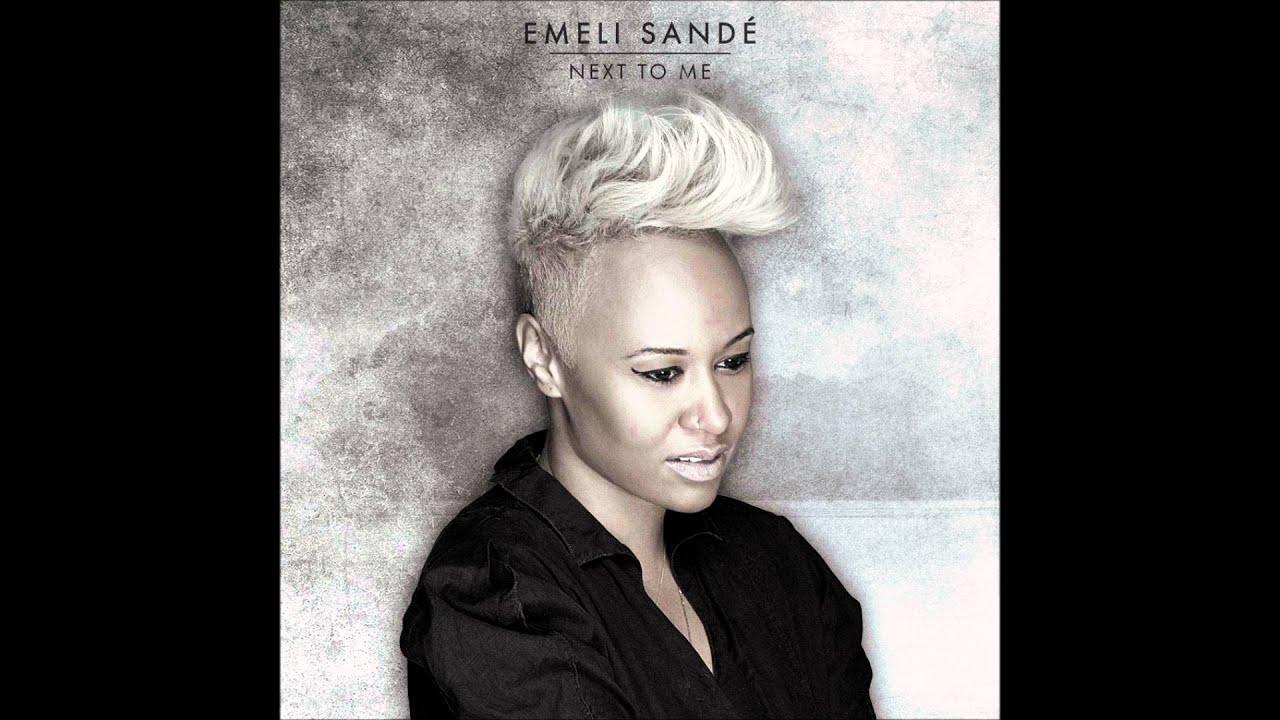 Emeli sande - Next to me - lyrics - YouTube