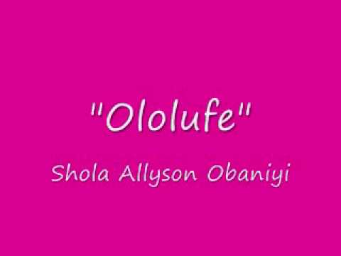 "Shola Allyson Obaniyi - Ayanmo Ife (from Album - ""Ire"")"