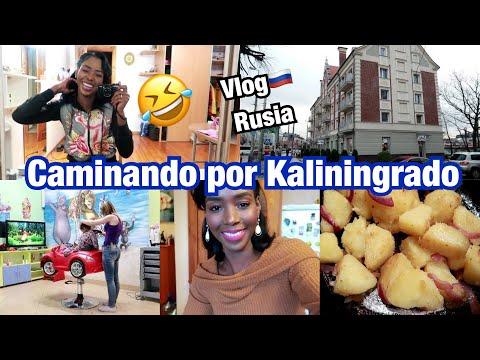 CAMINANDO POR KALININGRADO, RUSIA + SACANDO MAQUILLAJE + UNA HISTORIA | 26 Nov 2017
