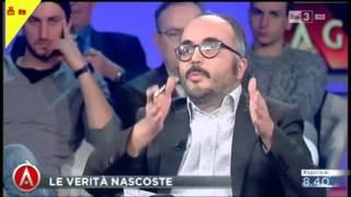 Agorà, scontro tra Christian Raimo e Gerardo Greco. E Raimo abbandona la trasmissione