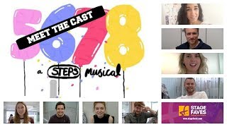 MEET THE CAST OF 5,6,7,8 | Stage Faves