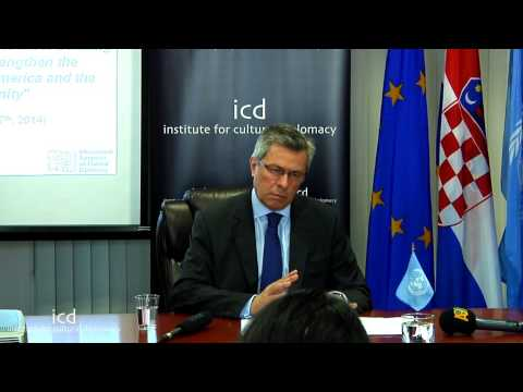 Vladimir Drobnjak, Permanent Representative of the Republic of Croatia to the United Nations