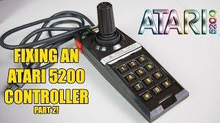 Atari 5200 controller repair Part 2 - replacing the flex circuit