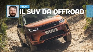 Land Rover Discovery Sport, quando al SUV piace sporcarsi