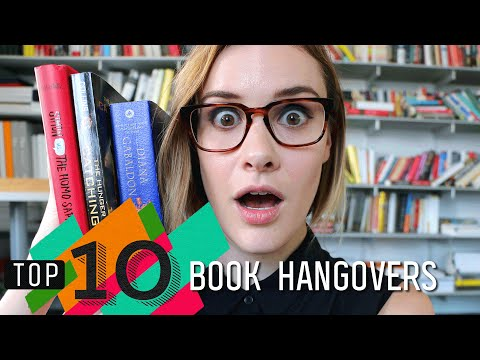 Top 10 Book Hangovers | Hunger Games, The Martian & More!