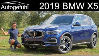 all-new BMW X5 FULL REVIEW 2019 G05 40i - Autogefühl