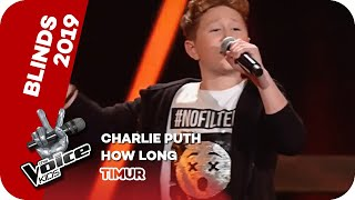 Charlie Puth - How Long (Timur) | Blind Auditions | The Voice Kids 2019 | SAT.1