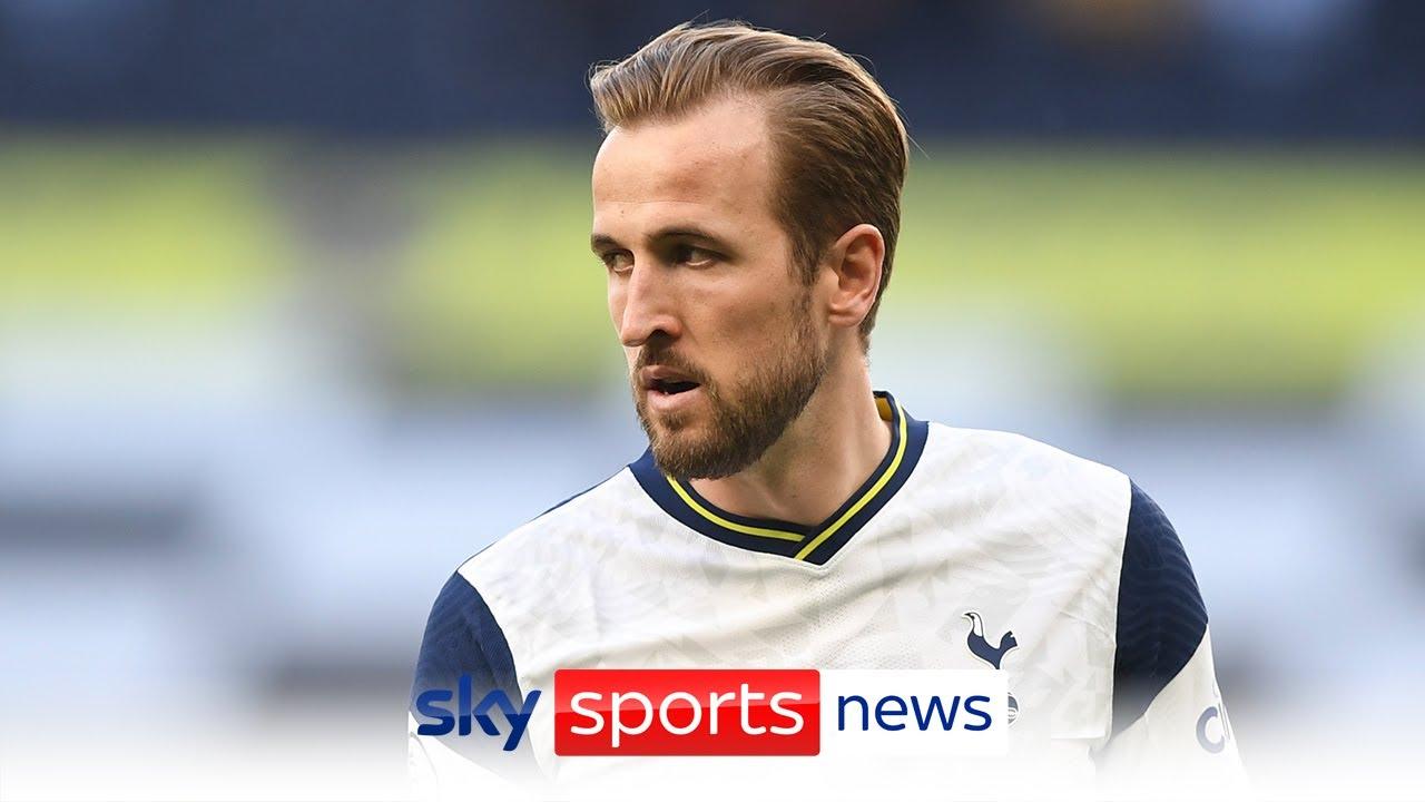 Manchester City make £100m transfer bid for Harry Kane