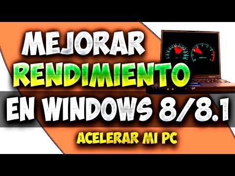 Como Acelerar Windows 8/8.1 Sin programas 2015   Mejorar el Rendimiento de mi PC