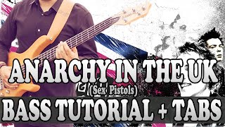 Hello everyone! Welcome to the channel, In this tutorial, You'll learn How to play - Anarchy In The UK - Sex Pistols (BASS). Please, like, share, comment your ...