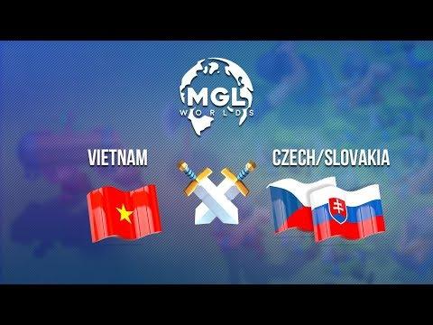 Vietnam vs Czech/Slovakia | MGL Worlds