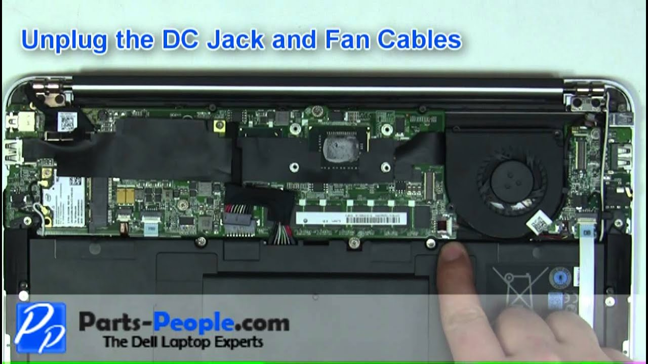 Dell Xps 13 Ultrabook Motherboard Replacement How To