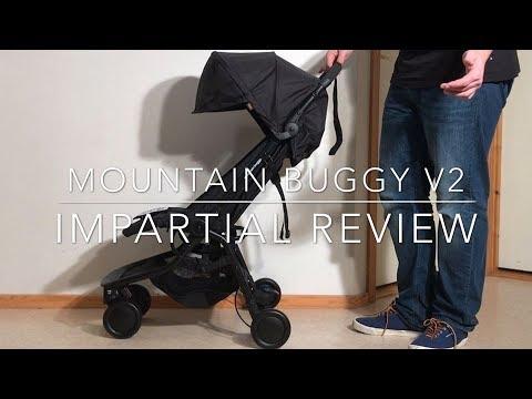 Mountain Buggy Nano V2, An Impartial Review: Mechanics, Comfort, Use