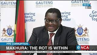 Rot is within: Makhura
