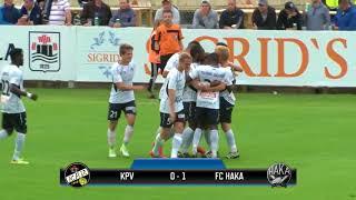FC Haka Ykkönen 2017 maalikooste -all goals