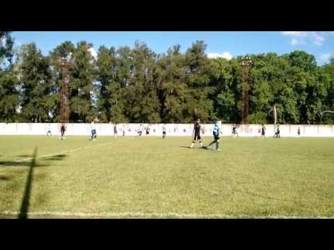 Fernando Cáceres FC 1 - Mutual UTA 3: Tercer gol del Colectivero