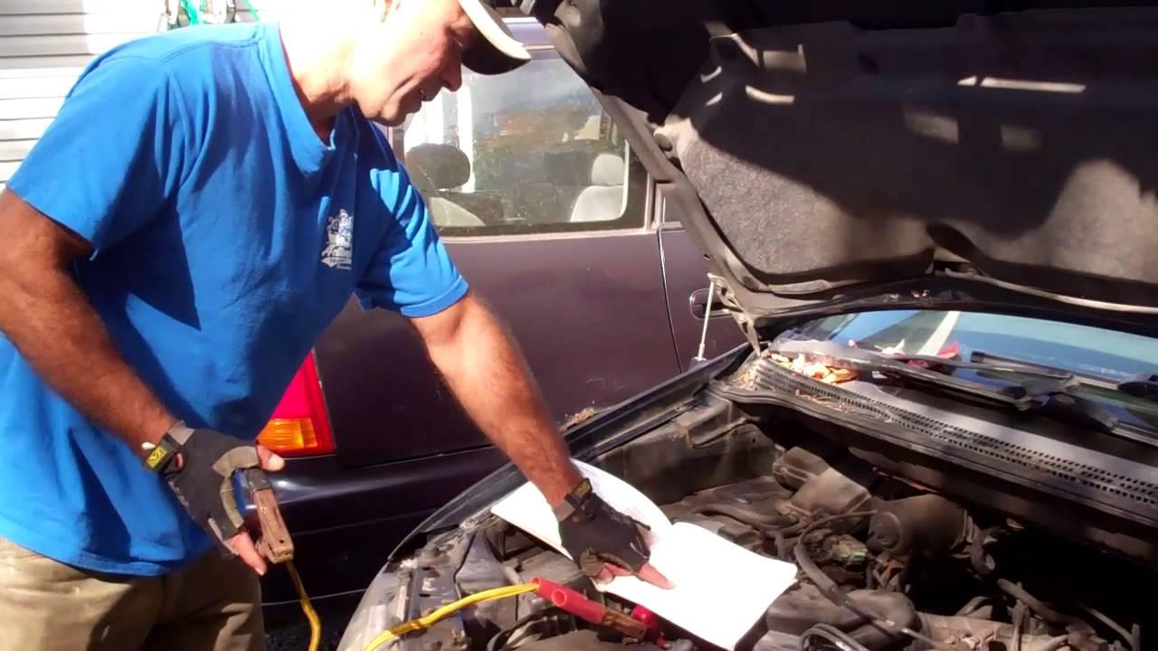 Boosting A Dead Car Battery
