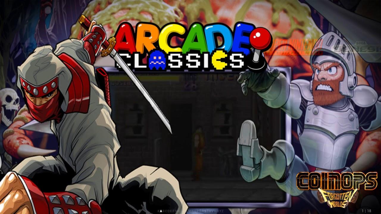 O Melhor Multijogos Agora No PC | CoinOps Forgotten Worlds 2 50 Gigas |  Download !